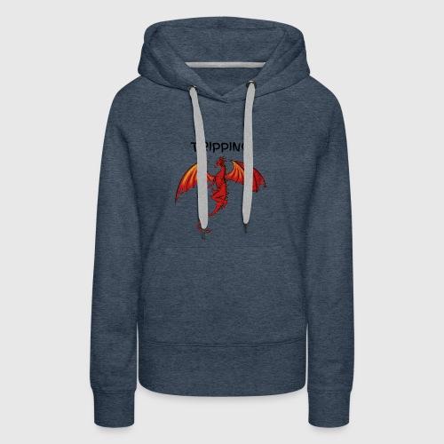 tripping - Vrouwen Premium hoodie