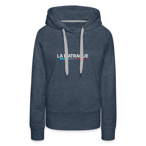 LA MATRAQUE. - Sweat-shirt à capuche Premium pour femmes