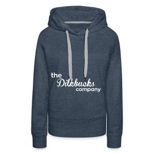 The Dilkbucks Company - T-Skjorte - Premium hettegenser for kvinner