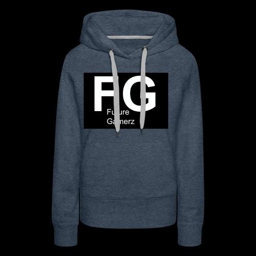 FG lofo boxed black boxed - Women's Premium Hoodie