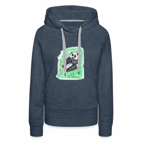 Scruffy panda - Women's Premium Hoodie