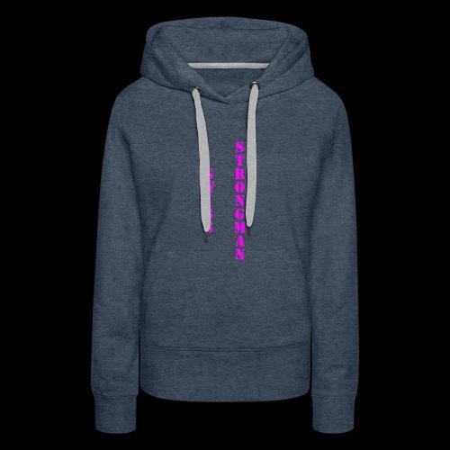 Swiss FSA T Shirt Swiss Strongman 1 - Frauen Premium Hoodie