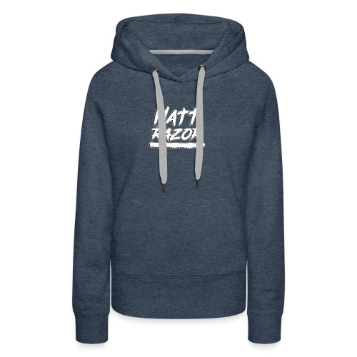 mattrazor - Sweat-shirt à capuche Premium pour femmes