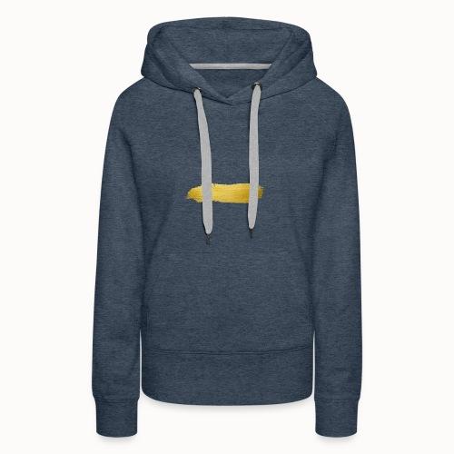 Gold Stroke - Frauen Premium Hoodie