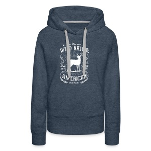 REAL HUNTER - Jäger Hunter Hunting Wildnis Shirt - Frauen Premium Hoodie