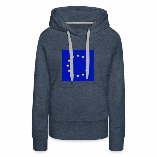 TRUE EU BLUE - Frauen Premium Hoodie