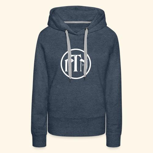 PTN-Music Logo Weiss - Frauen Premium Hoodie