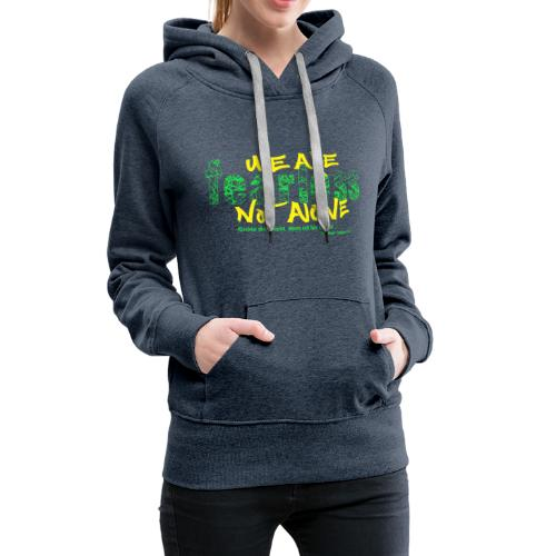 fearless - we are not alone - Frauen Premium Hoodie
