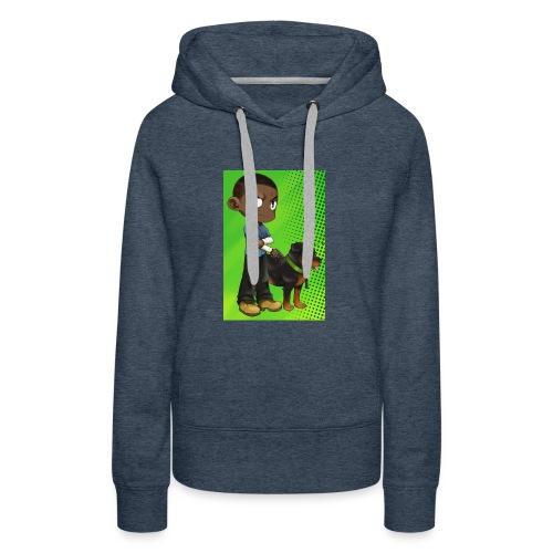 Gtav. 4 - Sweat-shirt à capuche Premium pour femmes