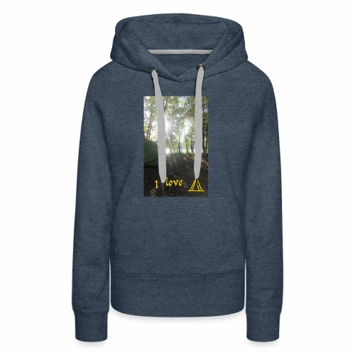 camping - Vrouwen Premium hoodie
