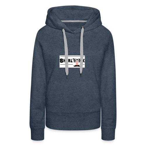 Sherlook - Sweat-shirt à capuche Premium pour femmes