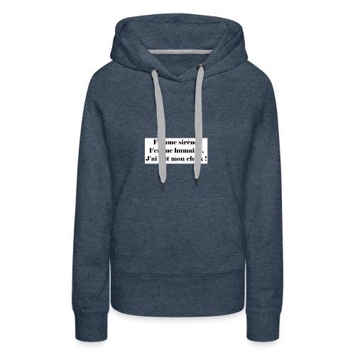 Ariel - Sweat-shirt à capuche Premium pour femmes