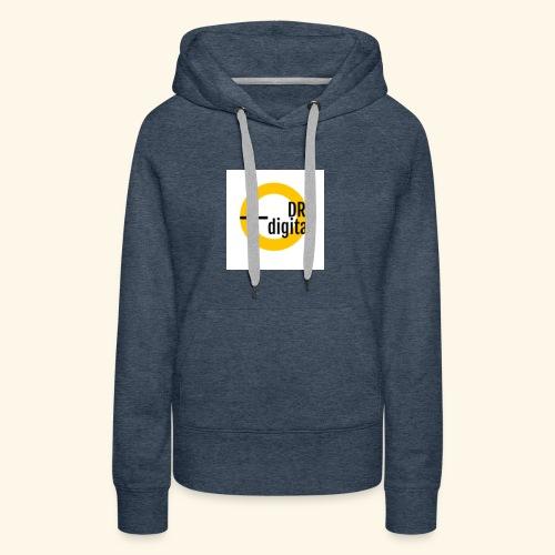 test - Sweat-shirt à capuche Premium pour femmes