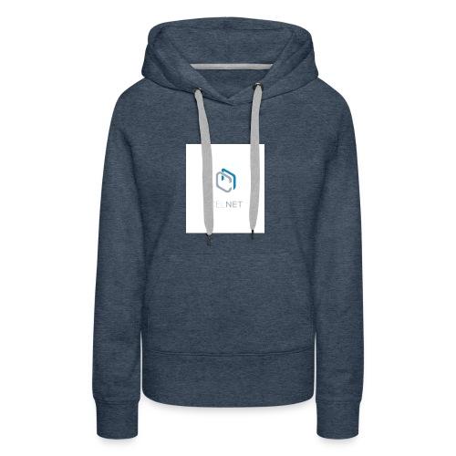 CELNET - Sweat-shirt à capuche Premium pour femmes