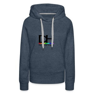 DH Health&Fitness Large logo - Women's Premium Hoodie