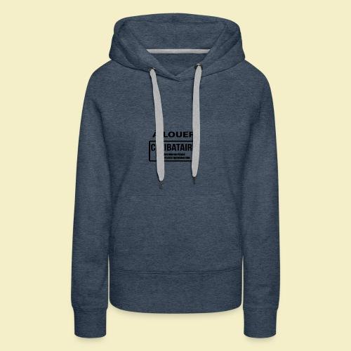 Funny T-Shirt - Sweat-shirt à capuche Premium pour femmes