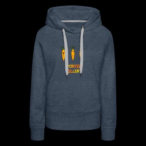 Wortel Killer [Kids Premium T-Shirt] - Vrouwen Premium hoodie