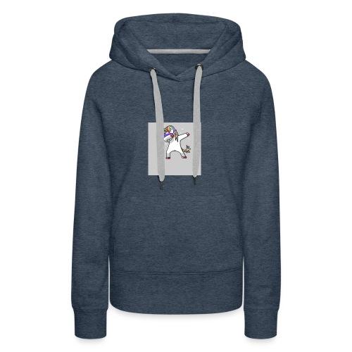 unicorn dab - Women's Premium Hoodie