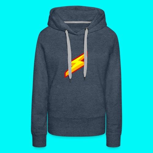 Lightning Shirt - Vrouwen Premium hoodie