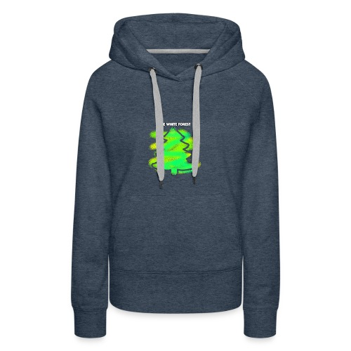 @THE_WHITE_FOREST KOLLEKTION - Frauen Premium Hoodie