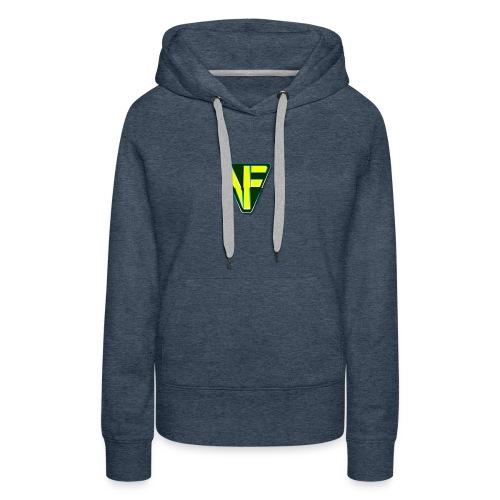 Virtual Farmer VF Logo - Women's Premium Hoodie