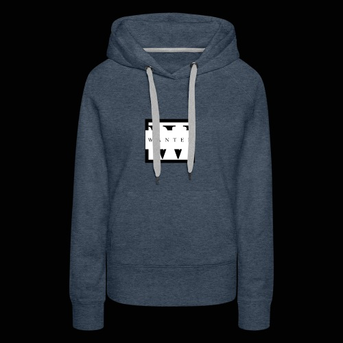 wanted JPEG - Sweat-shirt à capuche Premium pour femmes