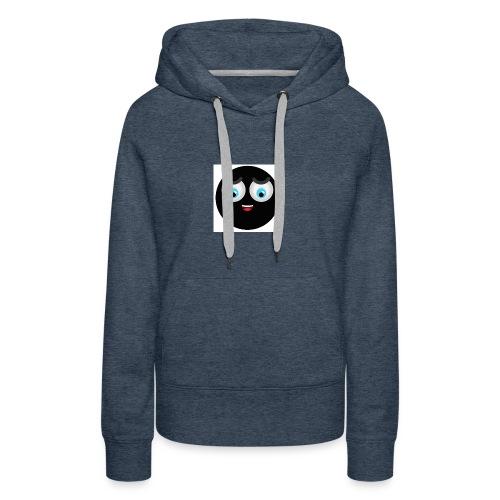 Black Emoji - Frauen Premium Hoodie