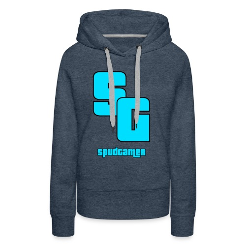 SpudGamer Logo - Women's Premium Hoodie