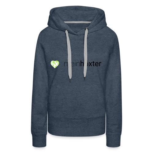 Mein Höxter Logo - Frauen Premium Hoodie