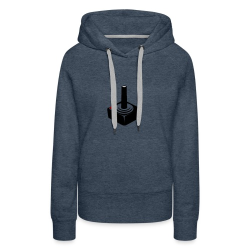 JoyStick MousePad - Vrouwen Premium hoodie