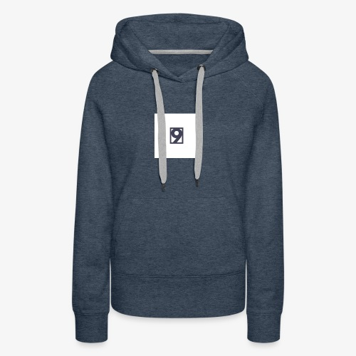 9 Clothing T SHIRT Logo - Women's Premium Hoodie