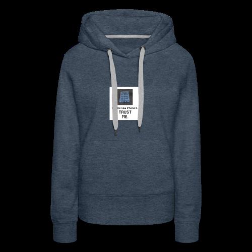 Paper iPhone X - Women's Premium Hoodie