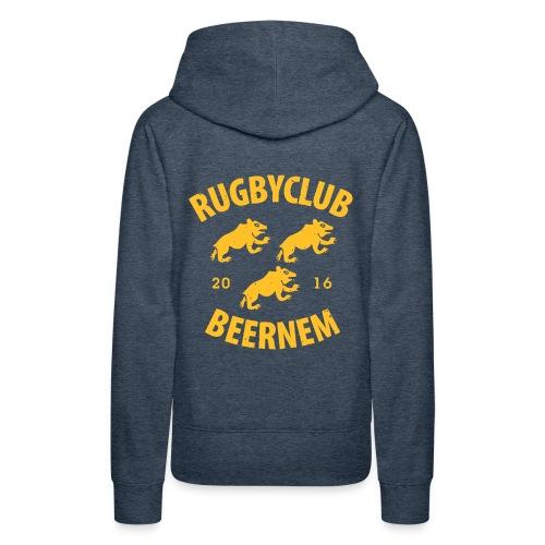 vintage RC Beernem logo - Vrouwen Premium hoodie