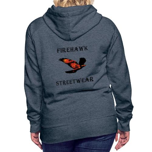 Fiery Hawk - Women's Premium Hoodie