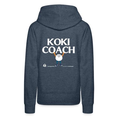 Koki Coach 13 - Frauen Premium Hoodie
