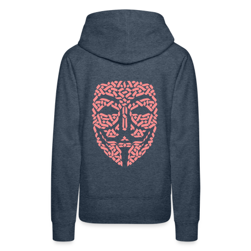 Anonymous Hacker - Frauen Premium Hoodie