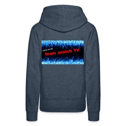 team snatch - Sweat-shirt à capuche Premium pour femmes