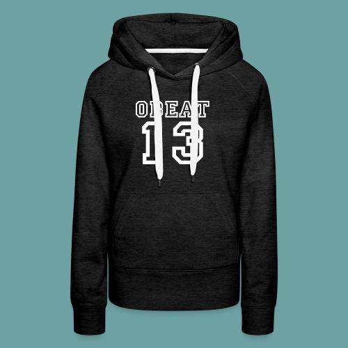Obeat Limited Edition - Vrouwen Premium hoodie