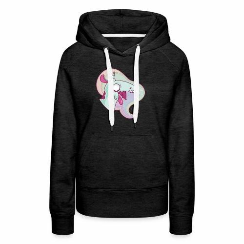 Grim The Unicorn - Premium hettegenser for kvinner