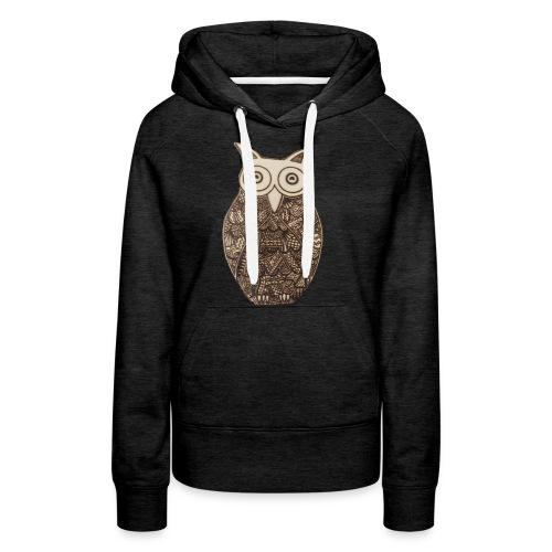 Pyro Owl - Women's Premium Hoodie