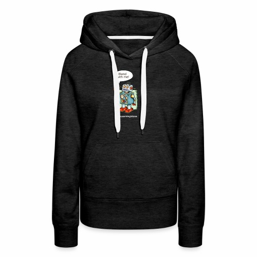 Blend with me - Women's Premium Hoodie