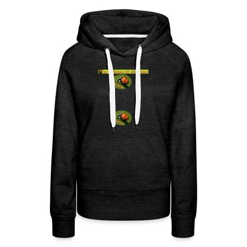 la scienza di giacomo logo maglietta PNG - Felpa con cappuccio premium da donna