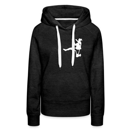 Handballerin - Frauen Premium Hoodie