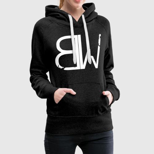 BW Logo standard - Frauen Premium Hoodie