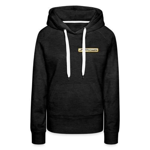 JNSpecimen logo cdv 1 png - Sweat-shirt à capuche Premium pour femmes