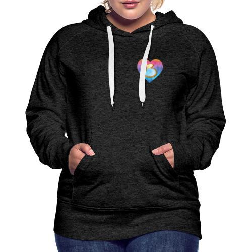 Be a B Heart - Women's Premium Hoodie