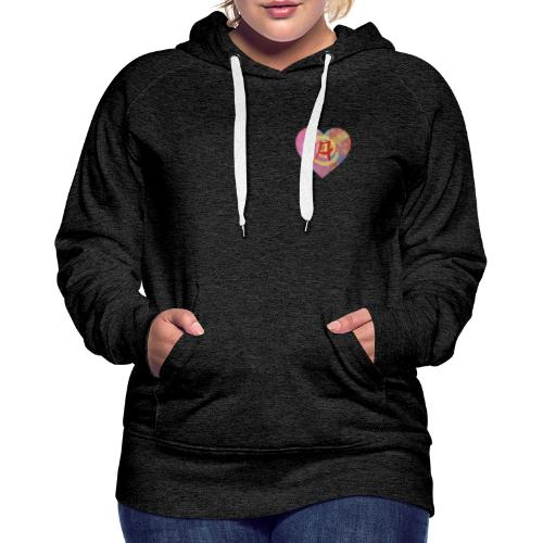 A giant leap forward for the Letter A - Women's Premium Hoodie