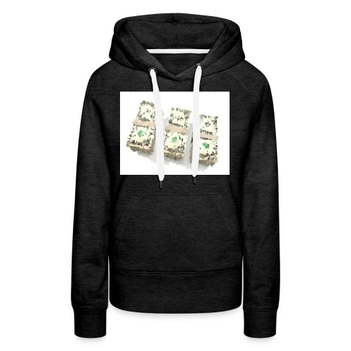 triangulated image png - Frauen Premium Hoodie