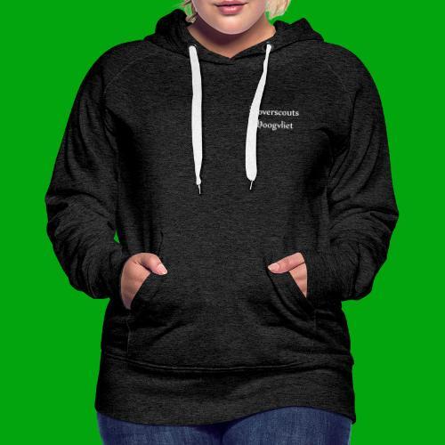 Rover logo en Tekst, Je kan zelf naam toevoegen - Vrouwen Premium hoodie