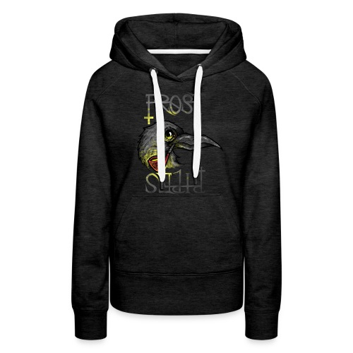 Frost Pipes Crow - Women's Premium Hoodie
